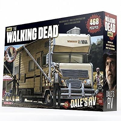McFarlane Toys Construction Sets- The Walking Dead TV Dale's RV Set: Toys & Games