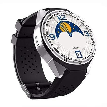 Kcanamgal Reloj Inteligente, WiFi Internet Paso Contando Cámara De Ritmo Cardíaco Reloj Smart Fitness Multilenguaje
