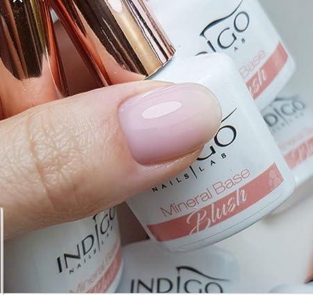 Nuevo Indigo mineral base gel esmalte uñas arte 7ml BLUSH ...
