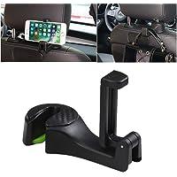 Mobile Phone Holder for Car - Auto Car Accessories - Seat Headrest Bag Hooks - Dress Hangers - Car Seat Organiser…