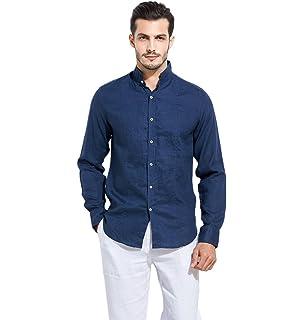 4e33657629e UAISI Men Cotton Long SleeveT-Shirt Regular Fit T Shirts For Summer ...