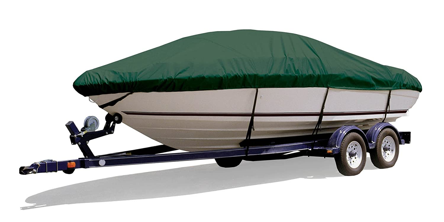 SF76704OR-Parent Survivor Marine Products Boat Cover for Euro V-Hull Runabout Boat with Wakeboard Tower Inboard//Outboard Engine