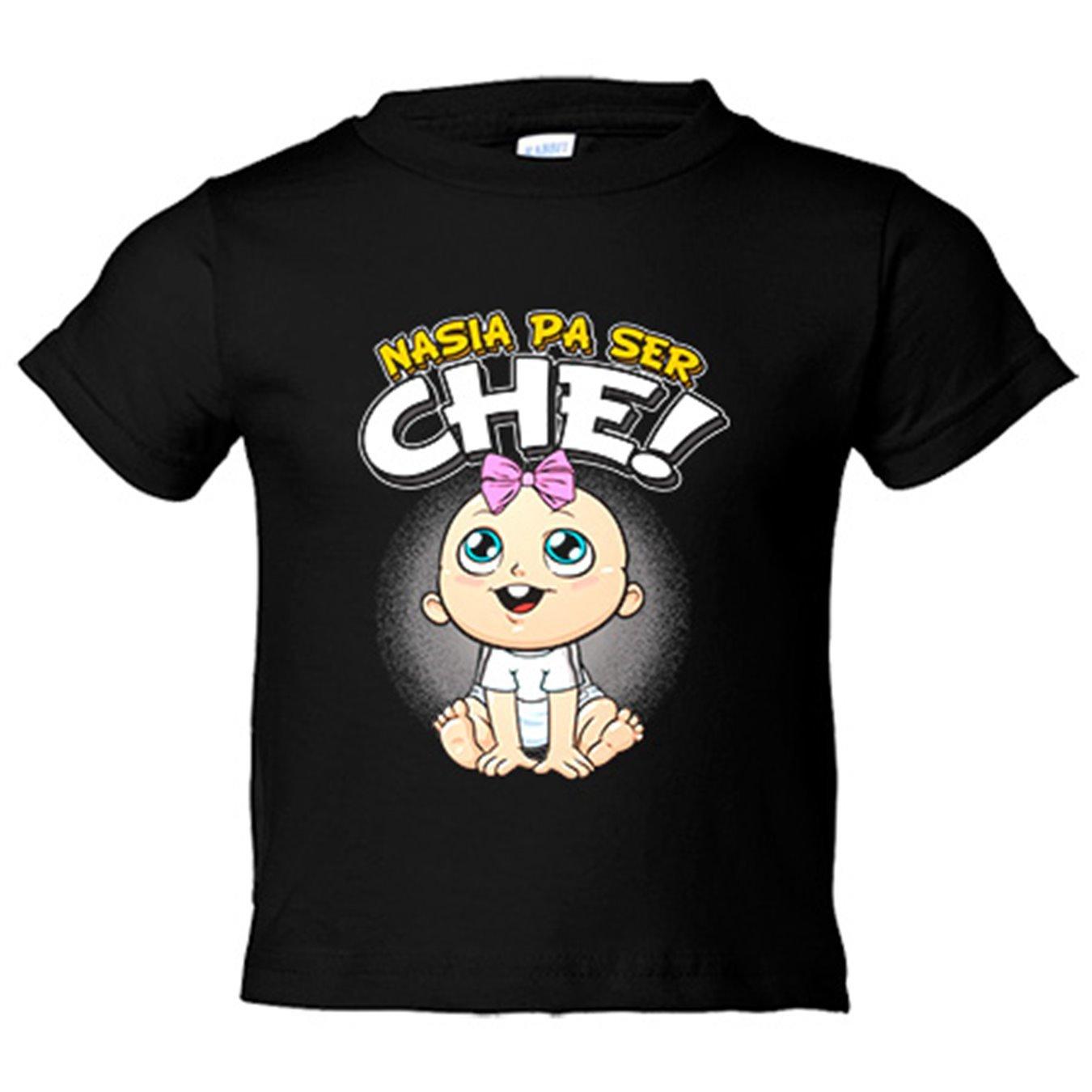 Camiseta niño nacida para ser Ché Valencia fútbol - Azul Royal, 3-4 años: Amazon.es: Bebé
