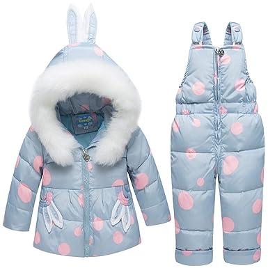 9716ac6a9 Unisex Baby Boys Girls Winter Snowsuit