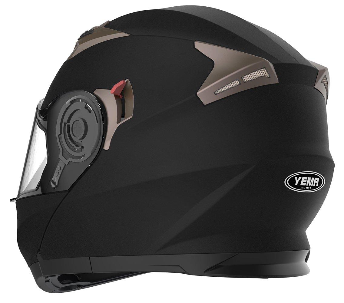 Motorbike Crash Modular Helmet Ece Approved Yema Ym 925 Full Face