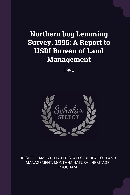 Download Northern Bog Lemming Survey, 1995: A Report to Usdi Bureau of Land Management: 1996 pdf