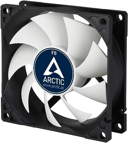 ARCTIC F8 – 80 mm Ventilador de Caja para CPU, Motor Muy ...