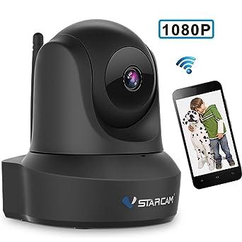 Cámara de Vigilancia VStarcam IP Cámara WiFi Inalámbrico Seguridad interior,Resolución HD de 1920×
