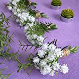 besttoyhome 4 Pcs Artificial Rosemary Plants Fake