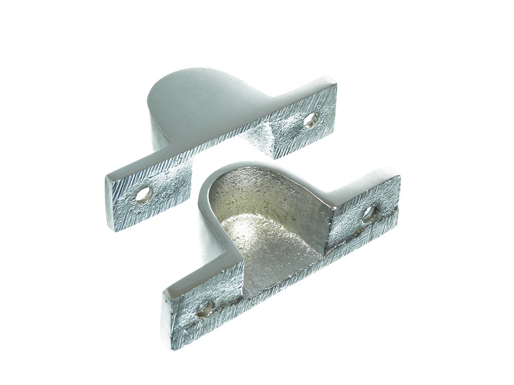 FANLIGHT CATCH LATCH ATTIC DOOR LOCK CHROME WITH SCREWS PACK OF 25