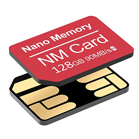 YAOMAISI NM Card 128G 90MB/S - Tarjeta de Memoria Nano-Tarjeta Micro SD Compact Flash (Solo para Huawei P30 \ P30pro y Mate20 Series, 128 GB NM)
