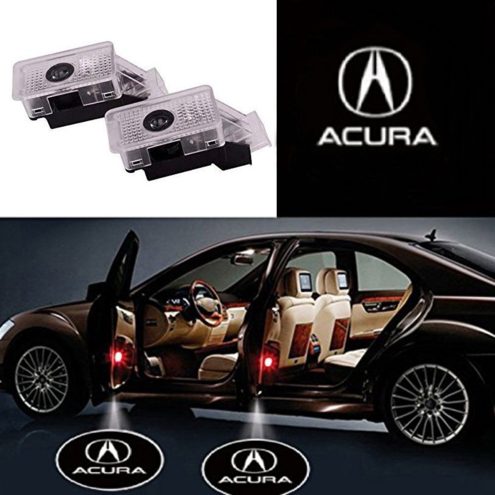 Auto Sport Car Door Logo Shadow Projector LED welcome Light (Acura)