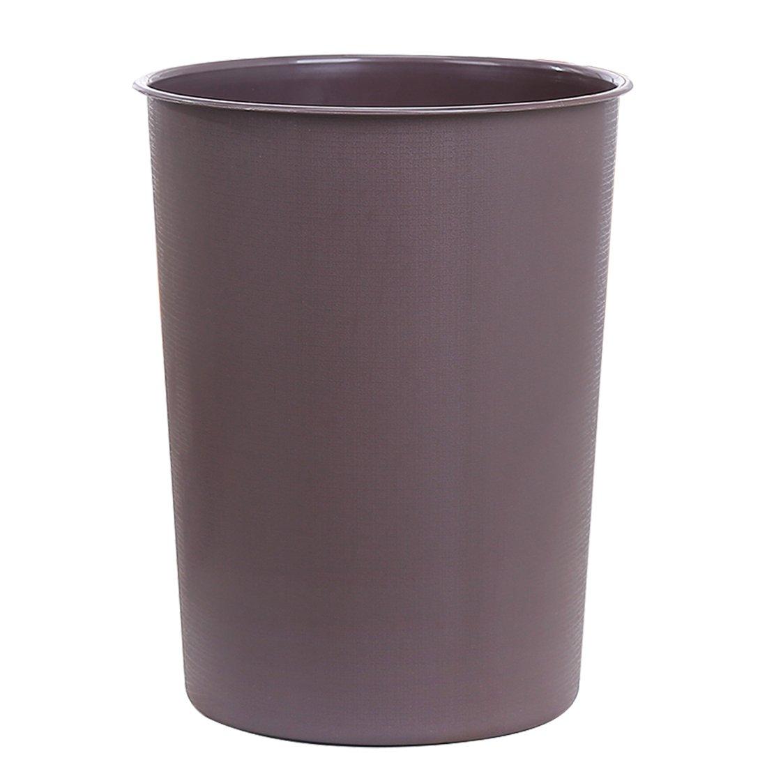 LoKauf Waste Paper Bin Waste Paper Basket Household Plastic Round Lidless Trash Can Garbage Bin