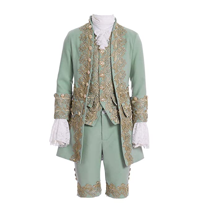Masquerade Ball Clothing: Masks, Gowns, Tuxedos Mens Victorian Fancy Outfit 18th Century Regency Tailcoat Vest Halloween Costume $138.60 AT vintagedancer.com