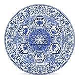 Spode Judaica Seder Plate(1)- Blue & White