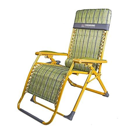 Lw yychair Silla Mecedora, Ocio Silla Plegable Reclinable Silla de jardín Reclinable Silla de Camping Plegable Jardín reclinable al Aire Libre: Amazon.es: Hogar