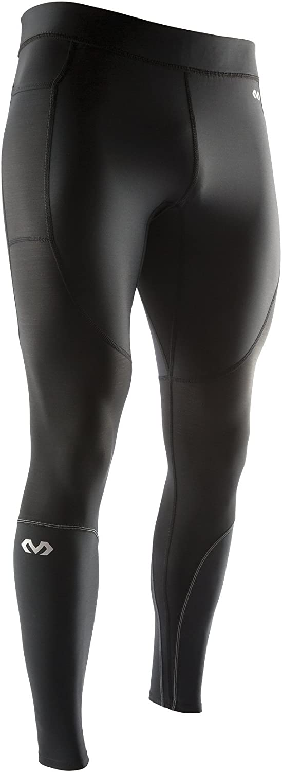 McDavid 8815 Men's Recovery Max Tight Base Layer Compression Pant Leggings for Running and Workouts