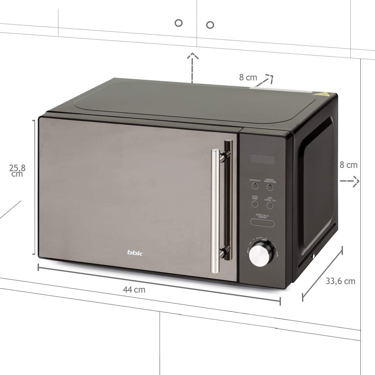 BBK 20MWS-722T/B-M Microondas Controles Electrónicos con Puerta ...