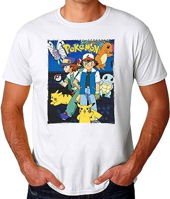 Pokemon Power Team Camiseta para Hombres: Amazon.es: Ropa y accesorios