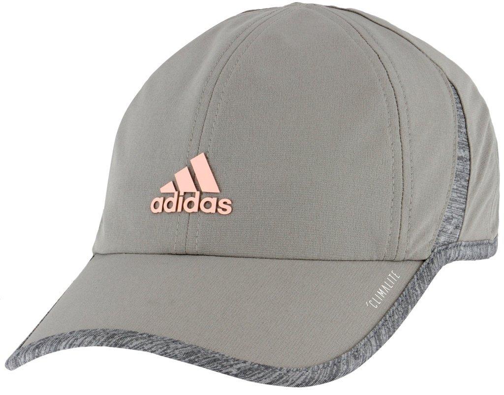 adidas Women's Superlite Cap, Light Onix/Light Grey Heather/Clear Orange, ONE SIZE by adidas