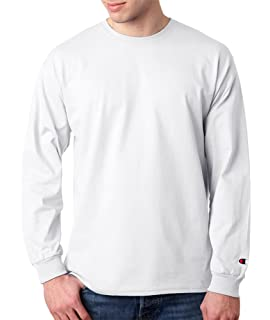 b4e336bbe05a Champion Long Sleeve Tagless T-Shirt: Amazon.co.uk: Clothing