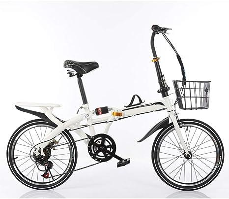 KXDLR 6-Velocidad De Velocidad Variable Bicicleta Plegable ...