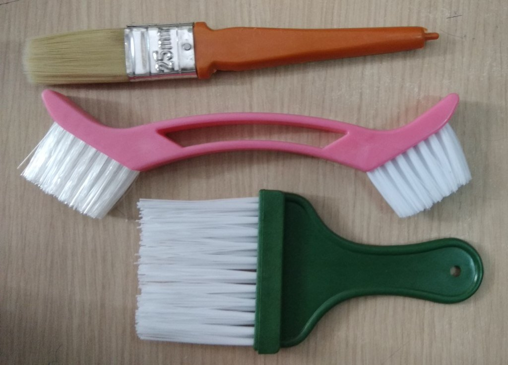 Jayadurga Enterprises Multi Purpose Cleaning Brush - Set of 3 (Multi Colour) (B07DKTHFBV) Amazon Price History, Amazon Price Tracker
