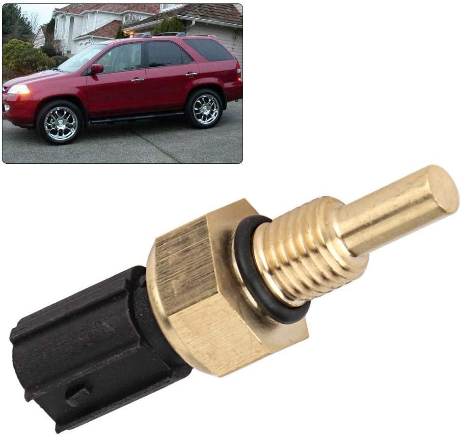 Hlyjoon Car Engine Coolant Temperature Sensor 37870PLC004 Thermo Senso TEMP for Honda Acura Civic CR-V Element Odyssey Pilot Ridgeline