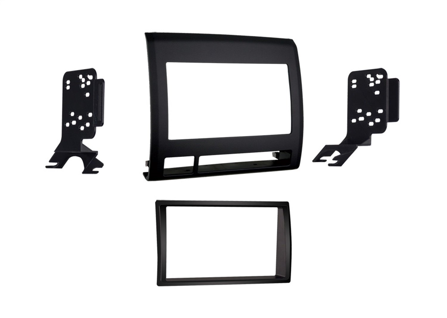 Metra 95 8214tb Double Din Dash Kit For Toyota Tacoma Mirror Wiring Harness 1987 Up 2005 2011 Vehicle Black Car Electronics