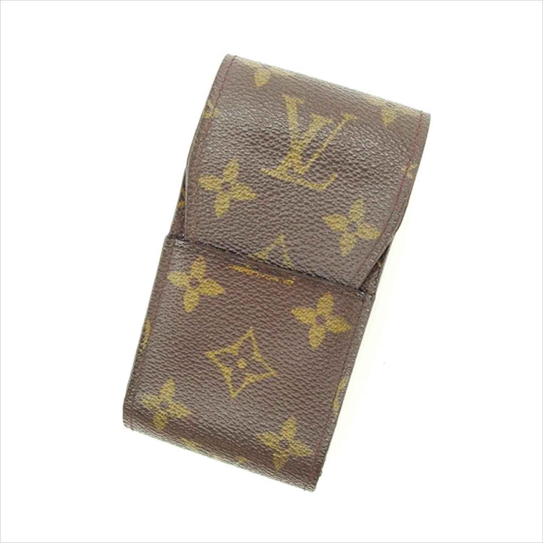 [ルイヴィトン] Louis Vuitton シガレットケース タバコケース メンズ可 エテュイシガレット M63024 モノグラム 中古 Y2216 B0772S8ZX7