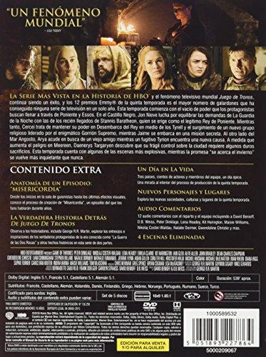 Juego De Tronos - Temporada 5 [DVD]: Amazon.es: Lena Headey, Peter ...
