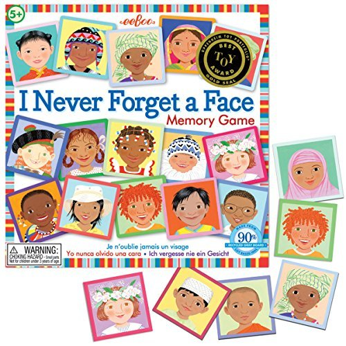eeBoo I Never Forget a Face Matching Game by eeBoo