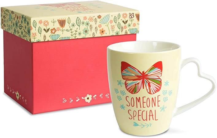 That Somebody Calls You Niece Novelty Floral Gift Mug
