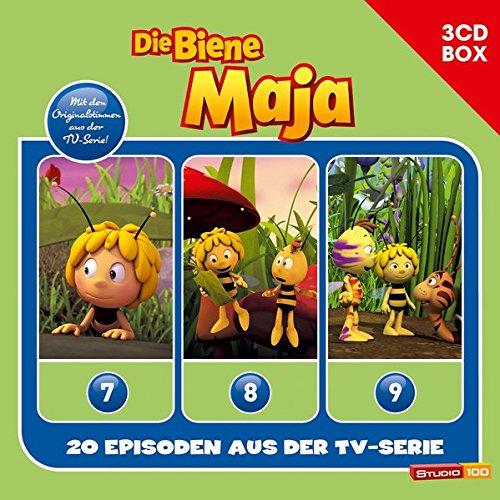 Die Biene Maja (CGI) / Die Biene Maja (CGI) - 3CD Hörspielbox Vol. 3 (Studio 100)