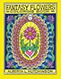 Fantasy Flowers Coloring Book No. 1: 24 Designs in Elaborate Oval Frames (Sacred Design Series)