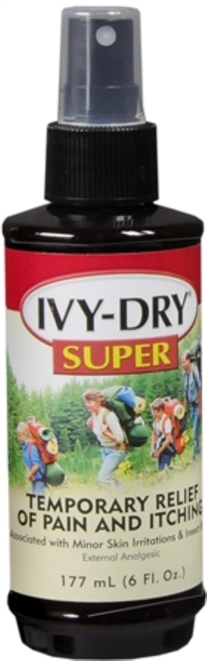 IVY-DRY Super Lotion Extra Strength 6 oz (Pack of 7)