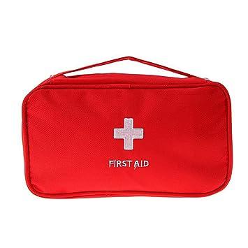 Ndier Al aire libre que acampa yendo de excursión bolsa de viaje de emergencia de emergencia botiquín de primeros auxilios bolsa de medicina de vacío, ...