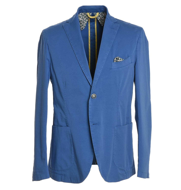 29-Twentynine Homme 1501CORNIOLA03 Bleu Coton Blazer
