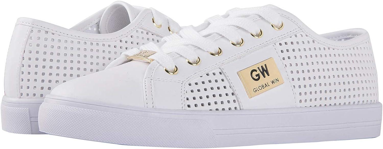 GLOBALWIN Women's Fashion Sneakers Low Top Casual Walking Shoes