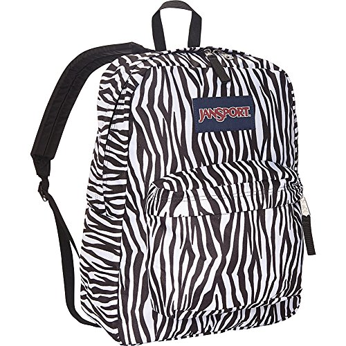 Zebra Superbreak Black Stripe Black Jansport Adult Backpack Unisex White Label wHYI4qOn8