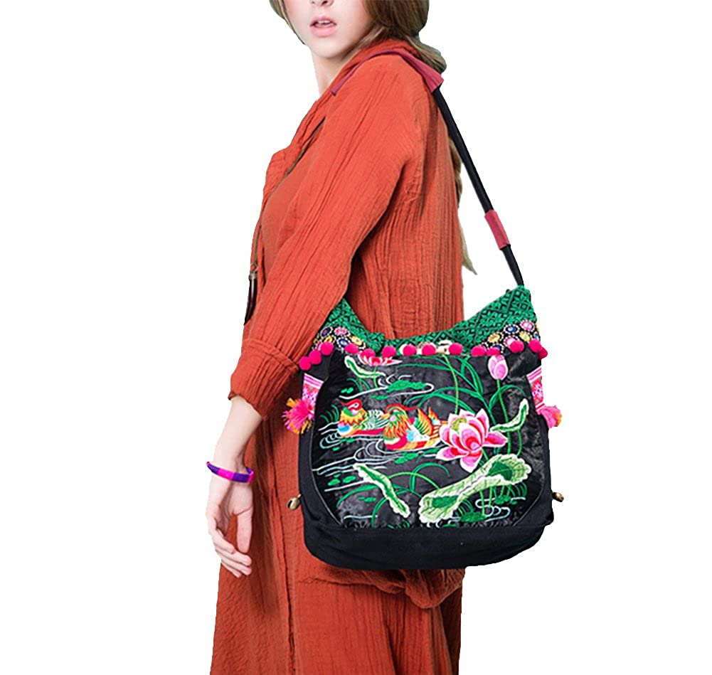 945db57f006 100% Handmade Handbag Purse Shoulder Sling Bag - Fine Oriental ...