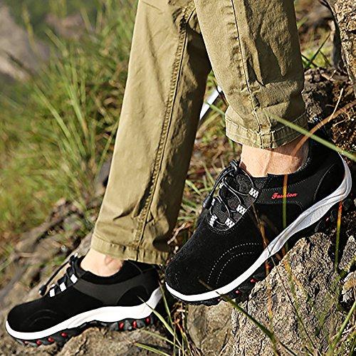 Randonnée Basses Chaussures Respirant Noir Homme Marche De PBq5xa57w