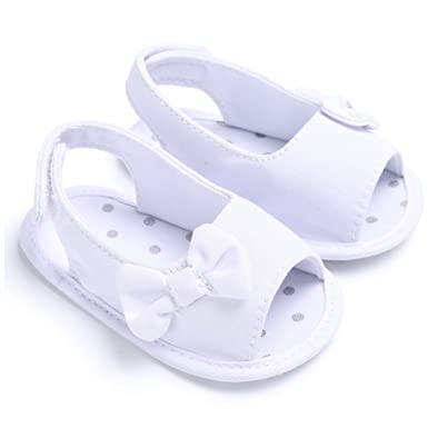 9d7f8a4af48 Amazon.com  Baby Shoes for Walking 0-18 Months Newborn Baby Girl ...