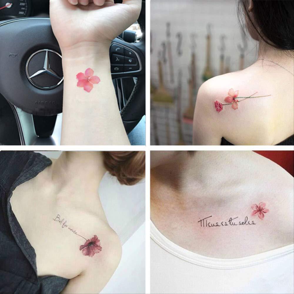 Tatuaje Pegatina Impermeable Mujer De Larga Duración Fresco Lindo ...