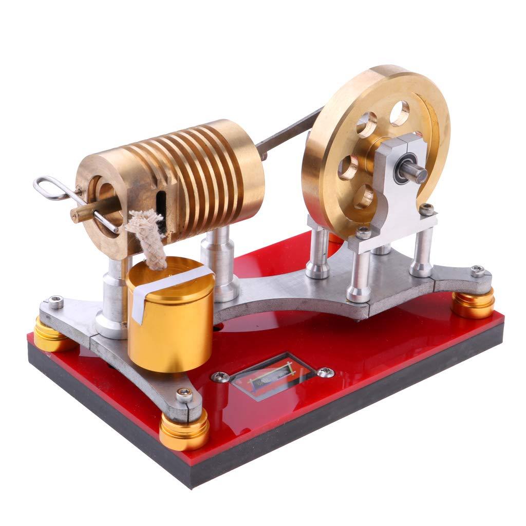 FLAMEER Heißluft Stirlingmotor Modell / Bausatz für für für Prinzip der Motor Funktionieren zum Zeigen ad2cb7