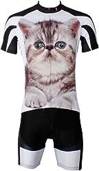 LAOYOU Fat Cat Mens Bike Clothes Bike Jersey Bike Apparel Bicycle Clothing  Cycling Apparel Bicycle Apparel bcc3acfed