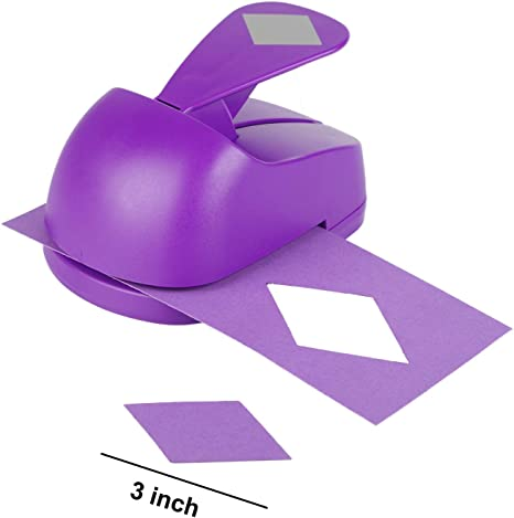 1.75 inch Triangle Craft Lever Punch 1.75 inch Triangle Punch DIY Handmade Paper Punch