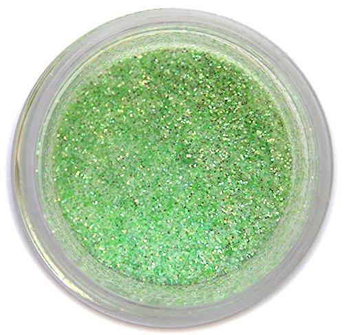Baby Green Glitter Dust, 5 gram container