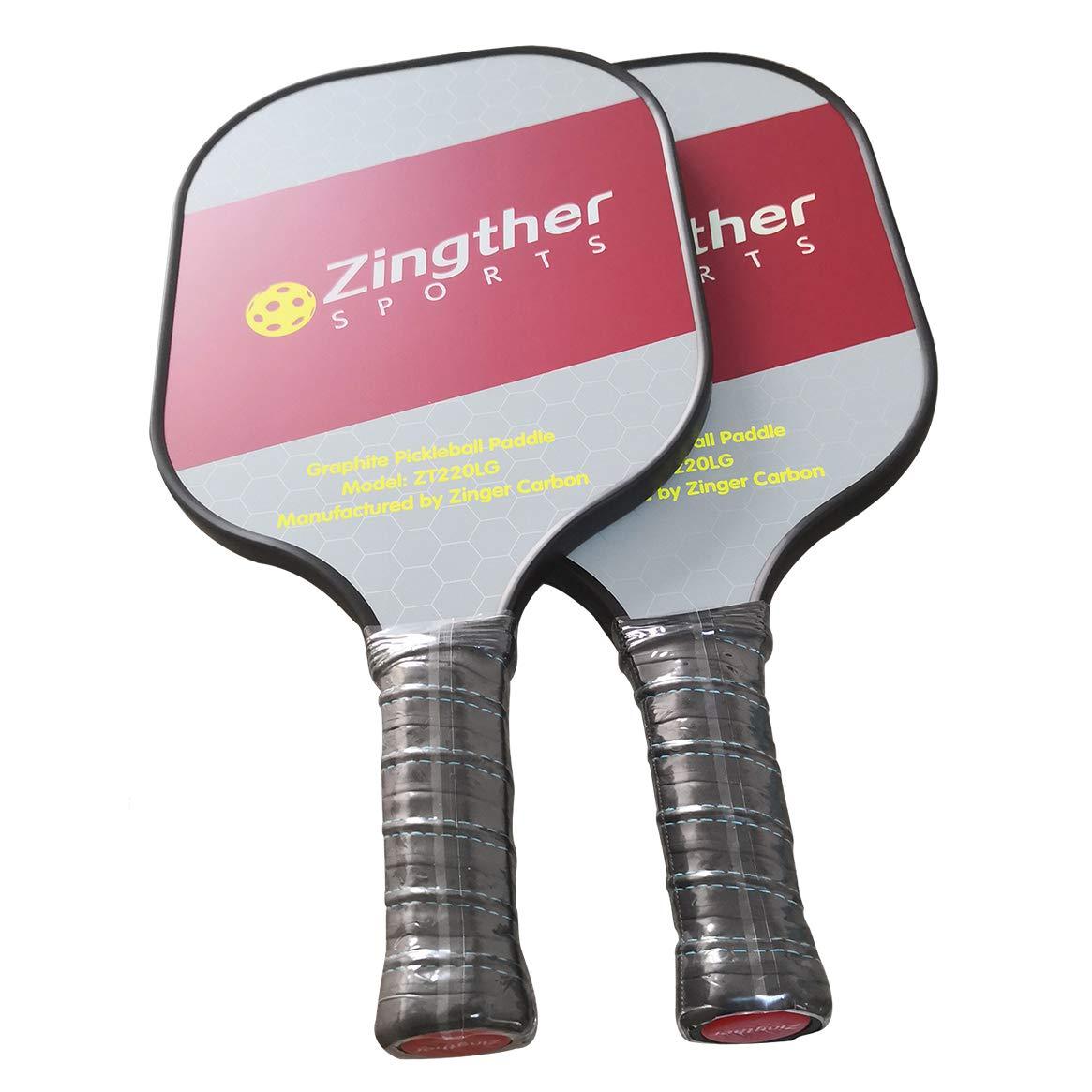 2019人気の Zingther グラファイト グラファイト ピックルボール パドル パドル ハニカム複合コア ウルトラクッショングリップ B07JNQG5YR B07JNQG5YR 2-pack, 文具事務用品画材の店 芙蓉堂:7ff20a29 --- beyonddefeat.com