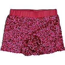 Heymei Women's/Girls Sexy Sequins Paillette Shorts Hot Short Pant Party Shorts 1